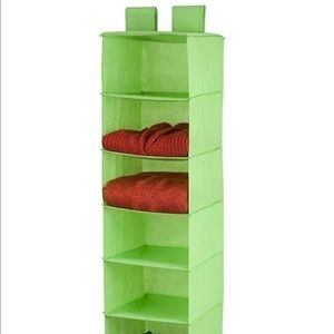 NWT Organizer 8-Shelf Hanging Lime by Honey-Can-Do